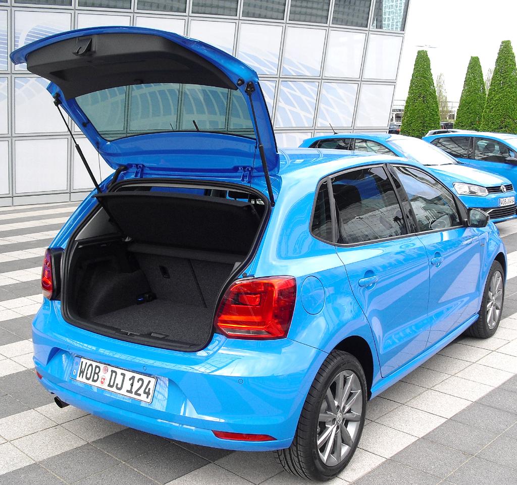 VW Polo: Das Gepäckabteil fasst 280 bis 952 Liter.