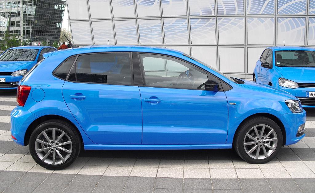 VW Polo: So sieht die Neuauflage des Kleinwagens von der Seite aus.