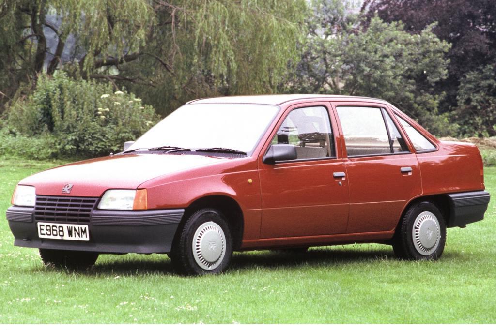 Vauxhall Belmond ab 1987 Schwestermodell des Opel Kadett
