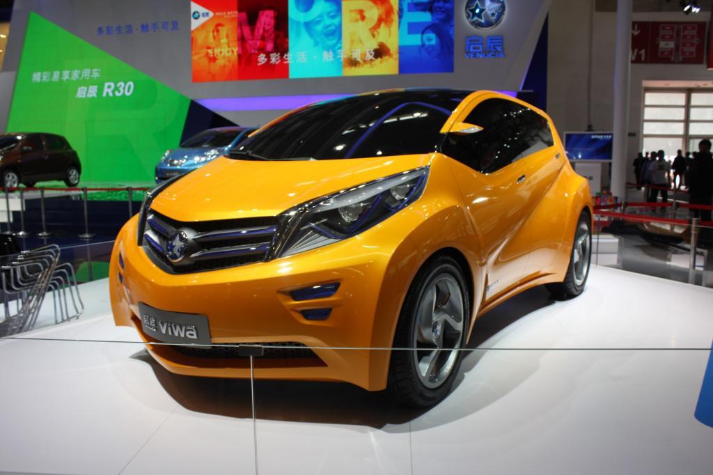 Venucia ViWa - Studie eines Elektoautos mit Technik des Nissan Leaf