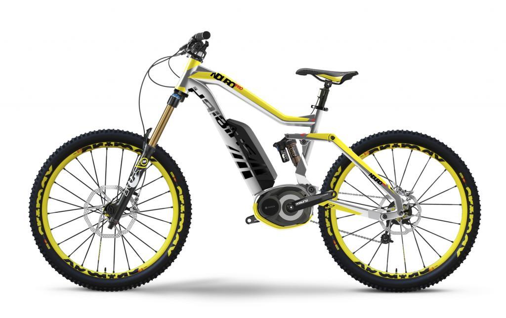 Von Haibike kommt das E-Modell mit dem seltsamen Namen Xduro Nduro Pro als langhubiges Mountainbike