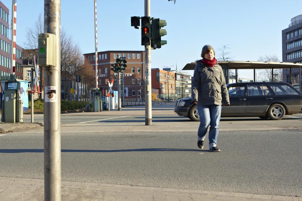 Vorsicht, Strafe: Alkohol auf dem Gehweg