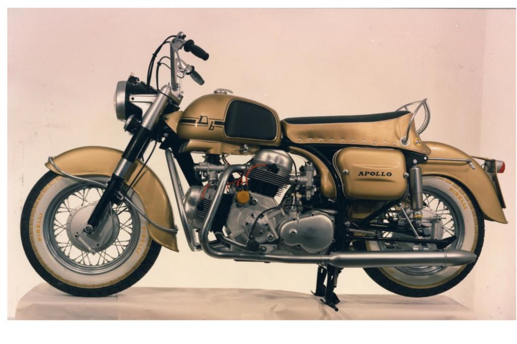 Wegen Gewichtsproblemen ging die Ducati Apollo von 1963 nie in Serie