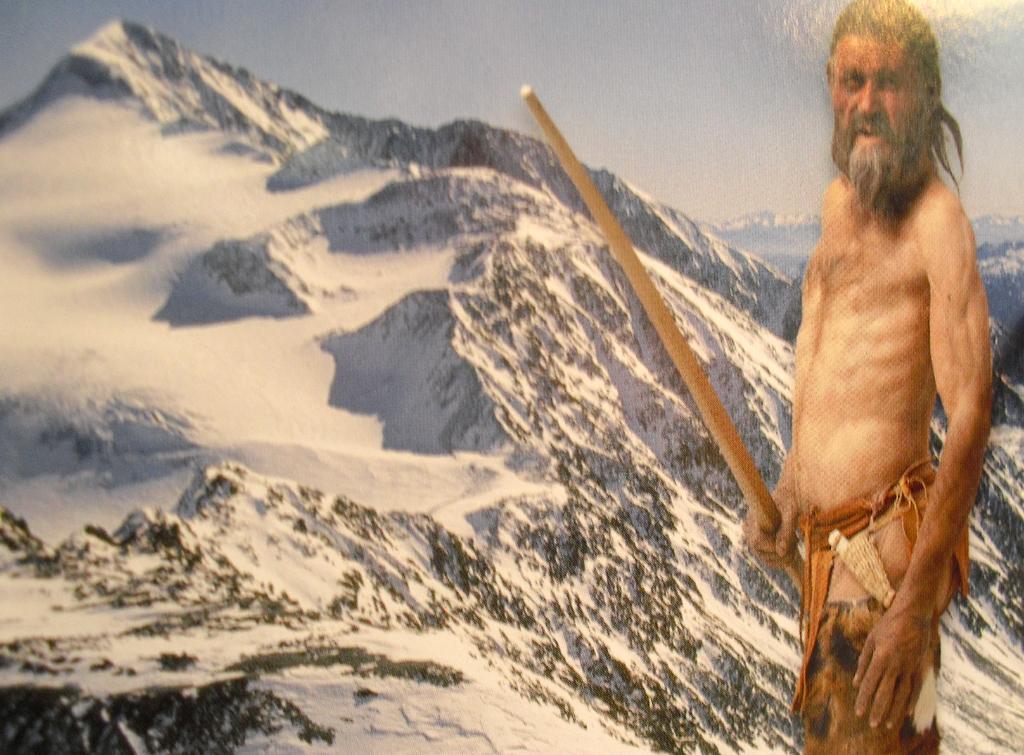 Wie Ötzi, der Gletschermann aus den Ötztaler Alpen, das wohl gefunden hätte?