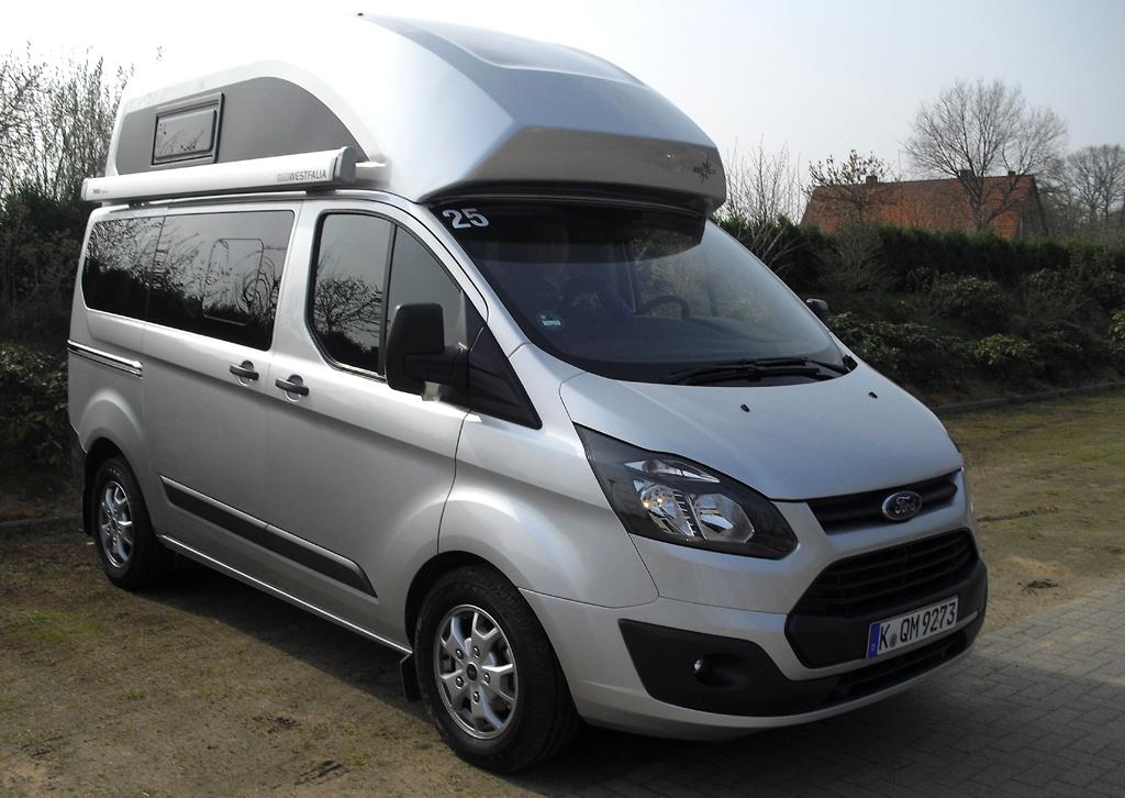 Wohnmobil für die Freizeit: Fords neuer Nugget ist zusammen mit Westfalia entstanden.