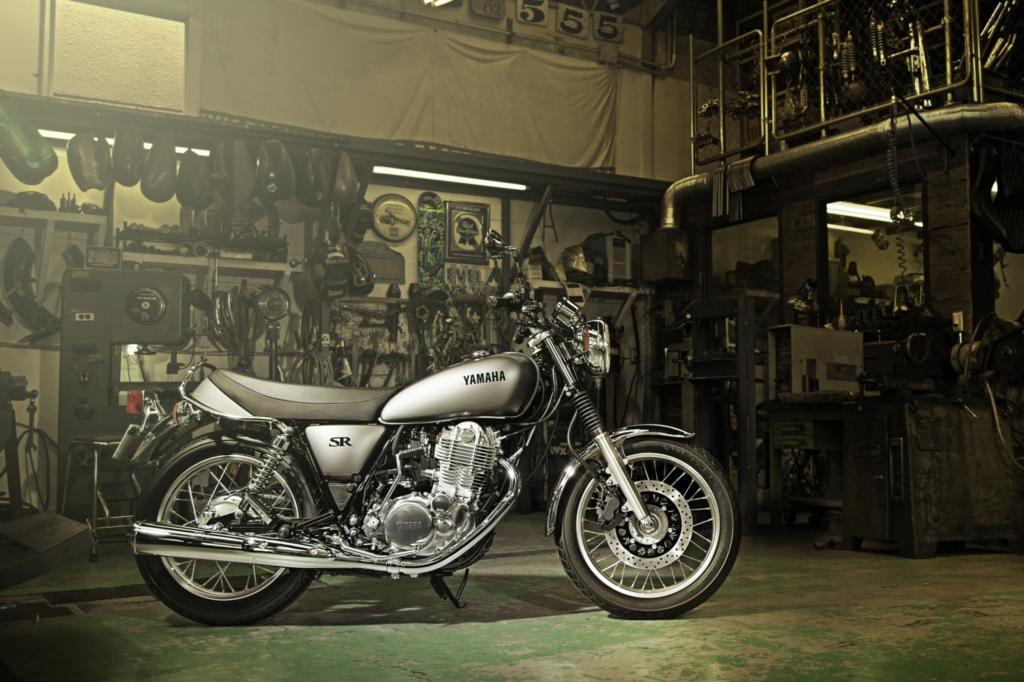 Yamaha SR 400 - Echter ist keine
