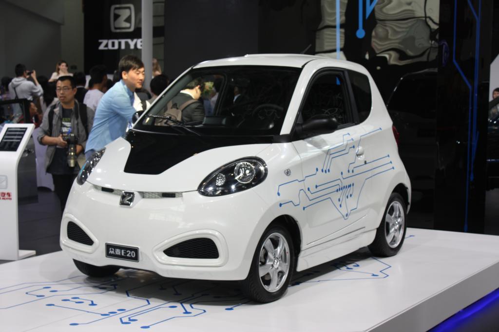 Zotye E25 - Zweisitziger Elektromini, Verkaufsstart im Mai, rund 200 km Reichweite, 80 km/h