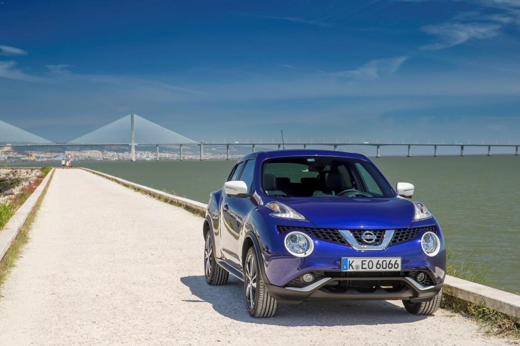 Das Facelift-Modell des seit 2010 erhältlichen Nissan Juke kommt im Juni zum unveränderten Basispreis von 15.450 Euro zu den Händlern.