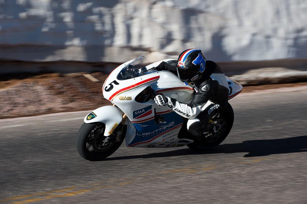 Über 340 km/h mit dem Elektro-Motorrad