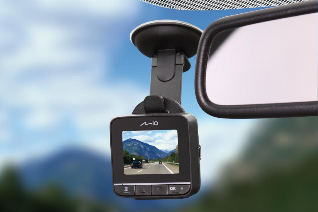Überwachungskamera im Auto