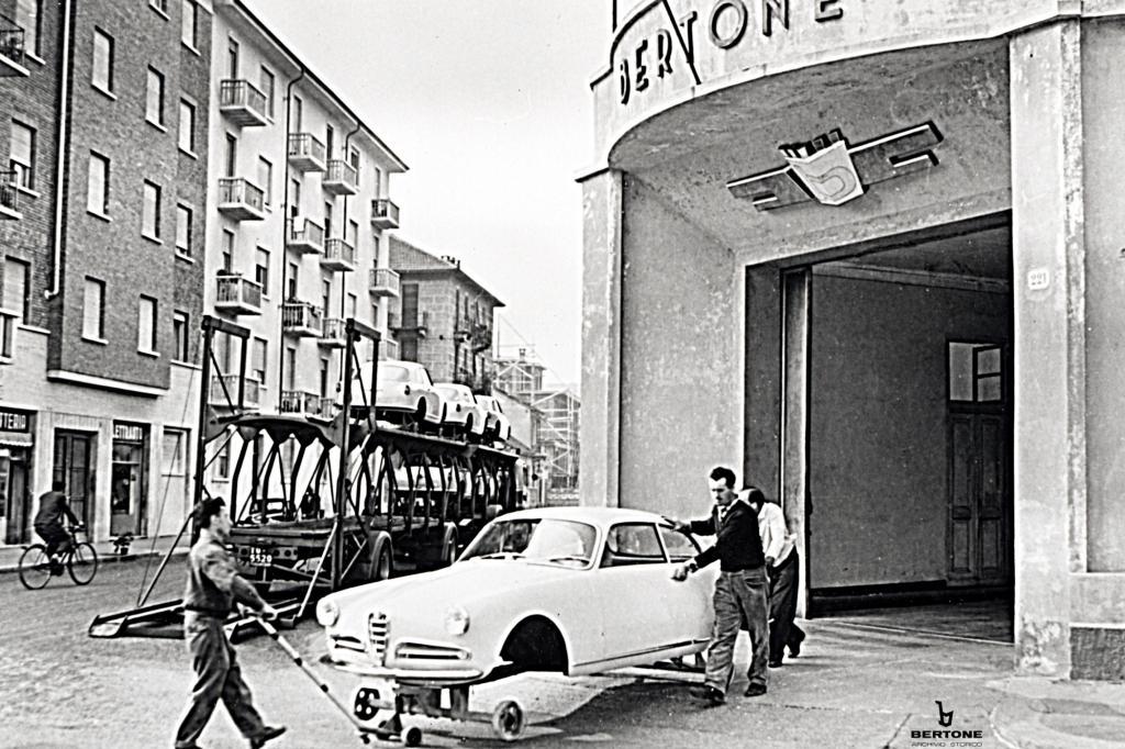 1954 präsentierte Bertone die Alfa Romeo Giulietta Sprint