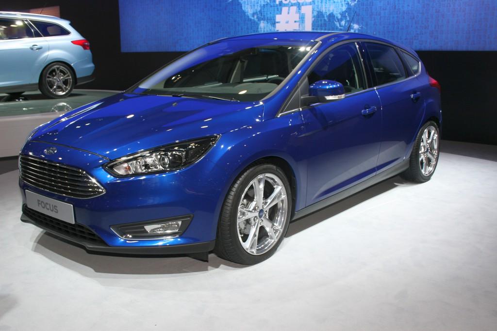 AMI 2014: Ford frischt den Focus auf