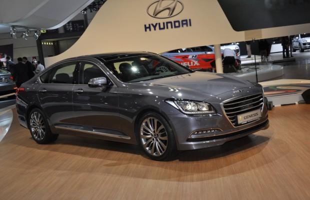 AMI 2014: Hyundai feiert Deutschlandpremiere der Genesis Sportlimousine