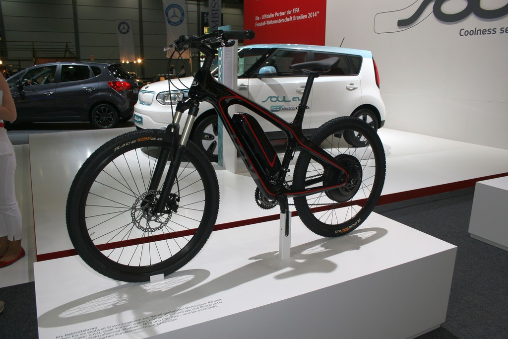 AMI 2014: Kia präsentiert Pedelec-Prototypen