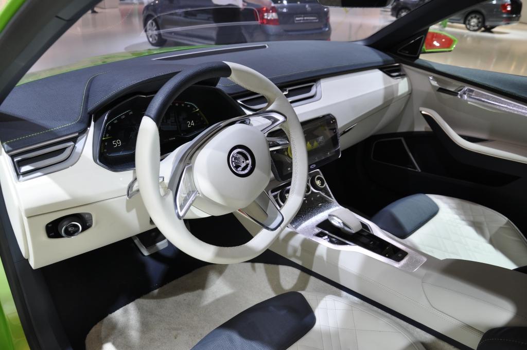 AMI 2014: Skoda VisionC Concept - So schick und doch so praktisch