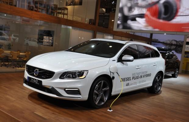 AMI 2014: Volvo V60 Plug-in-Hybrid - Spar-Diesel im Trainingsanzug