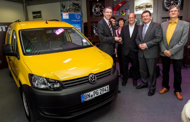 Abt setzt den VW Caddy unter Strom