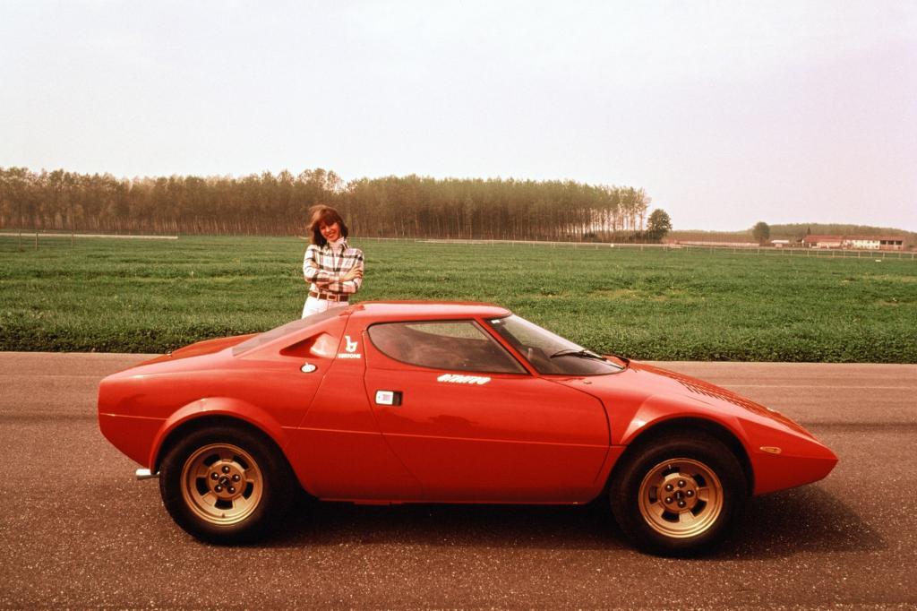 Auch beim legendären Lancia Stratos war Bertone beteiligt