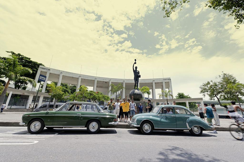 Audi-Ausstellung: Zwei-Takt-Rhythmus in Brasilien