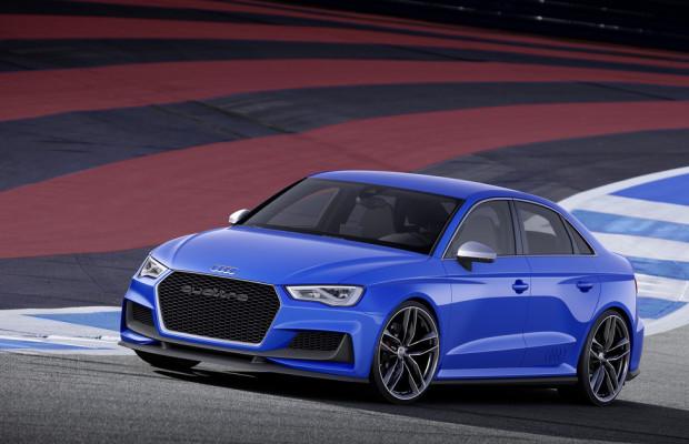 Audi mit Clubsport Quattro Concept am Wörthersee