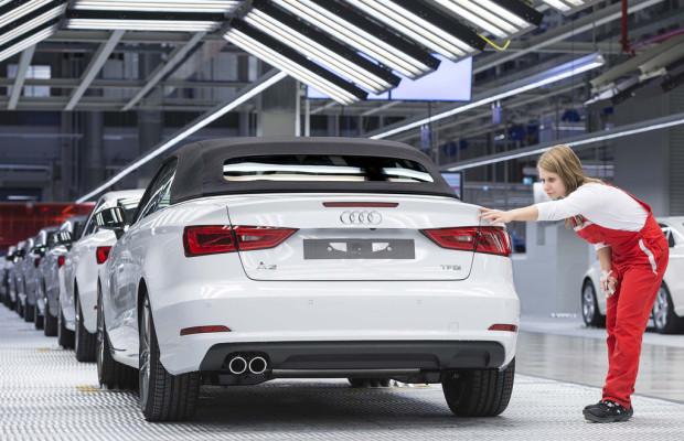 Audi mit bestem ersten Quartal
