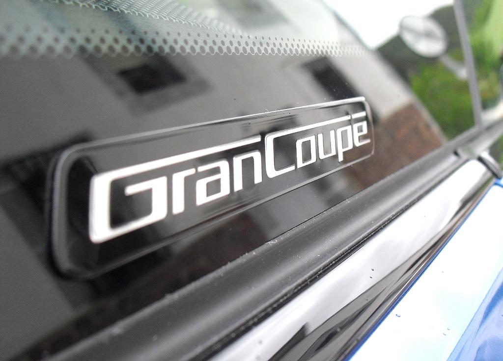 BMW 4er Gran Coupé: Modellschriftzug an der Seite.