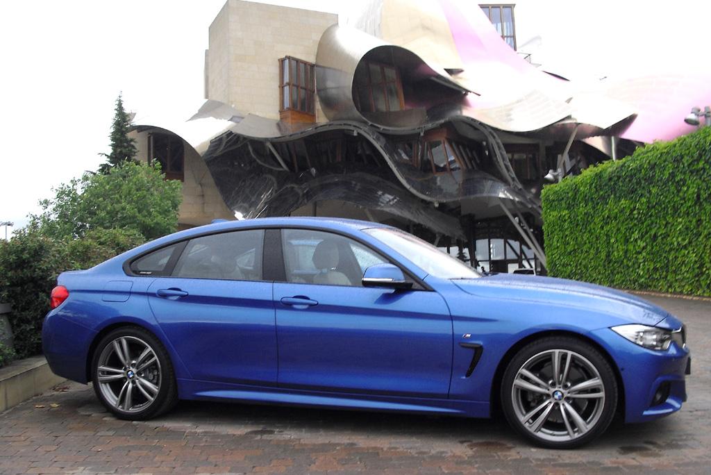 BMW 4er Gran Coupé: So sieht der Viertürer von der Seite aus.