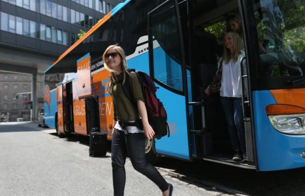 BMW-Fahrer stehen auf Fernbusse