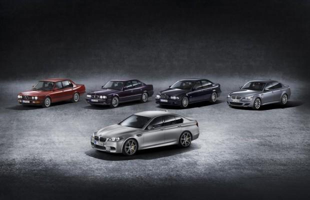 BMW M5: Zum 30. Geburtstag gibt es 600 PS