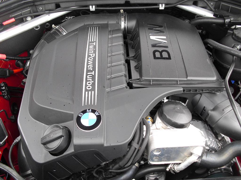 BMW X4: Blick unter die Haube.