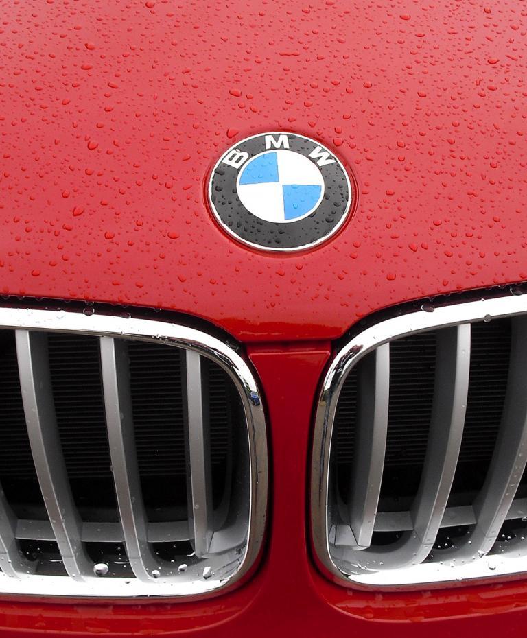 BMW X4: Das Markenlogo sitzt vorn auf der Motorhaube.