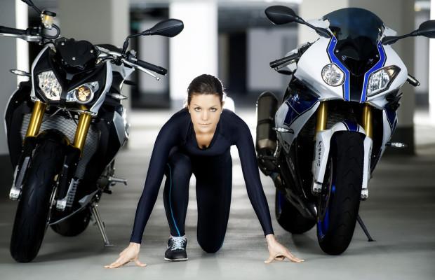 BMW hält Motoradfahrer fit