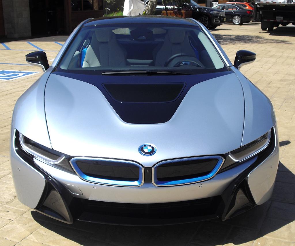 BMW i8: Blick auf die Frontpartie.