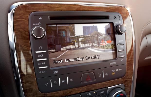 Buick führt Rückfahrkamera als Standard ein