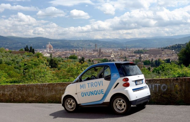 Car2go startet in Florenz