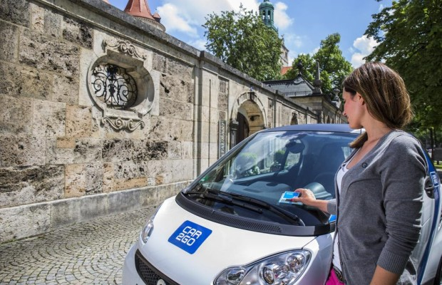 Carsharing: App sucht Mietautos