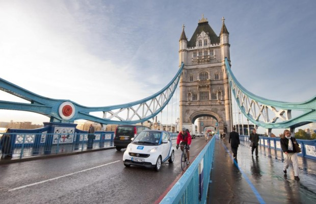 Carsharing-Projekt von Daimler - Car2go zieht sich aus Großbritannien zurück