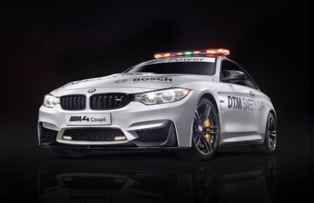 DTM-Safety-Car: BMW M4 Coupé an der Spitze