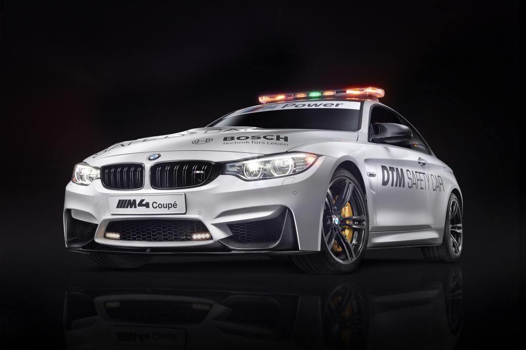 DTM-Safety-Car: BMW M4 Coupé an der Spitze