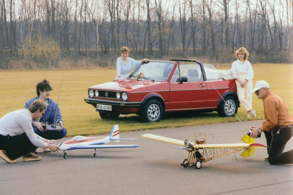 Das Cabrio - hier das Modell von 1984 - war besonders populär