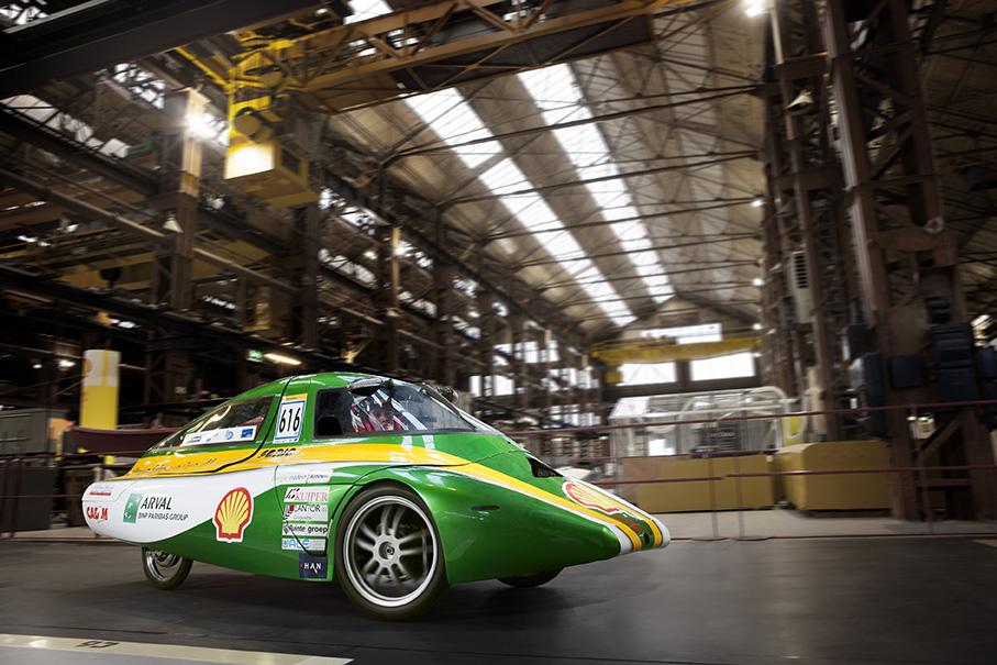 Das Team Han Hydromotive aus Arnheim setzt auf Wasserstoff