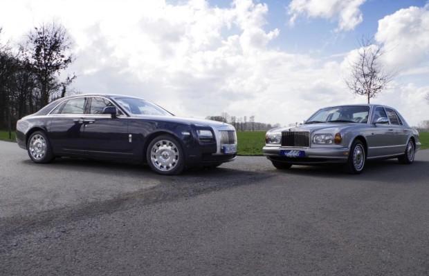 Das kleine 12 x 12 - Rolls Royce Silver Seraph trifft Ghost