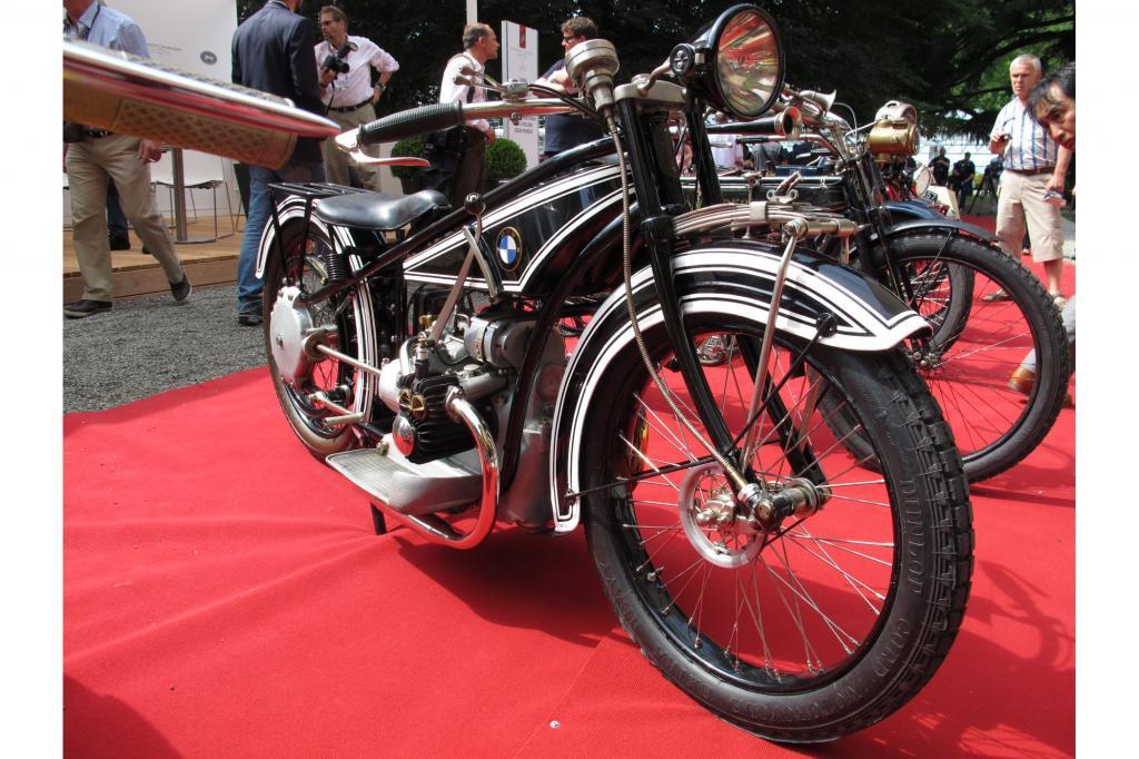 Das ältestes bekannte BMW-Motorrad der Welt ist dieses Exemplar - die R 32 von 1923 ist älter als die bayerischen Museumsschätze