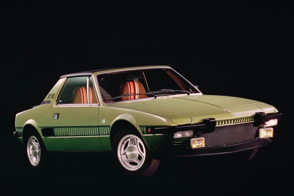 Den Fiat X 1/9 hat Bertone gestaltet und auch selbst gebaut