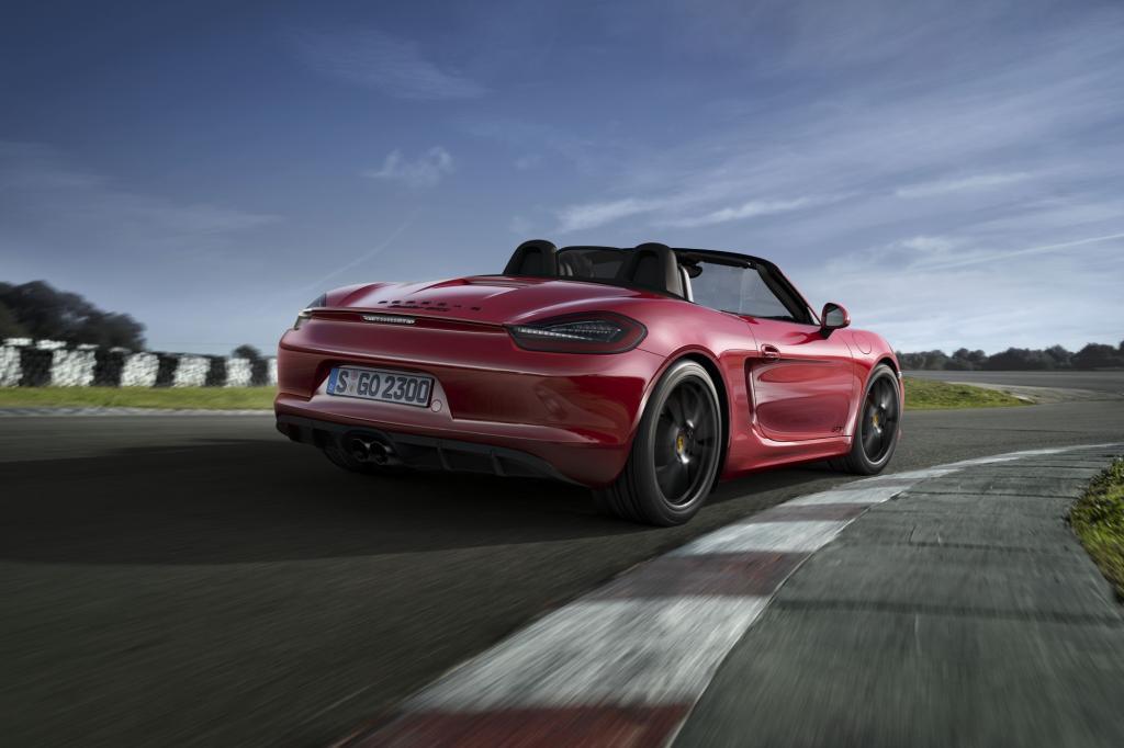 Der 243 kW/330 PS starke Boxster GTS kostet mindestens 69.949 Euro