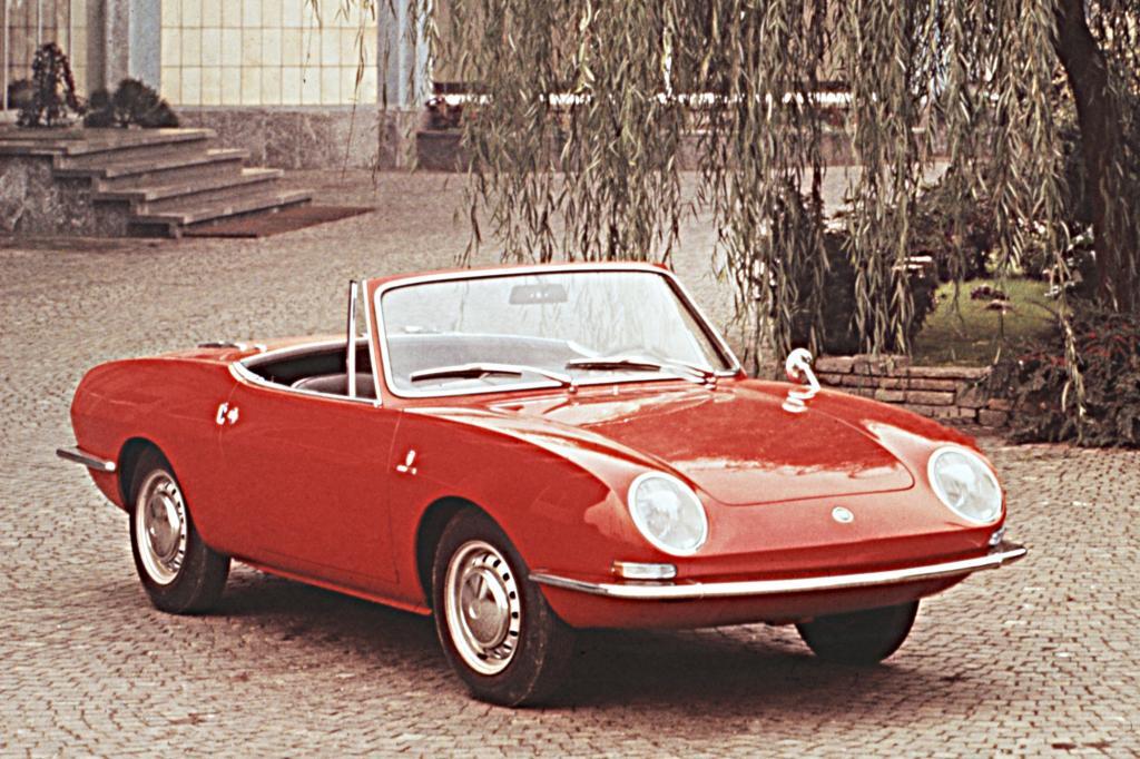 Der Fiat 850 Spider markierte 1965 einen Wendepunkt in der Firmengeschichte von Bertone.