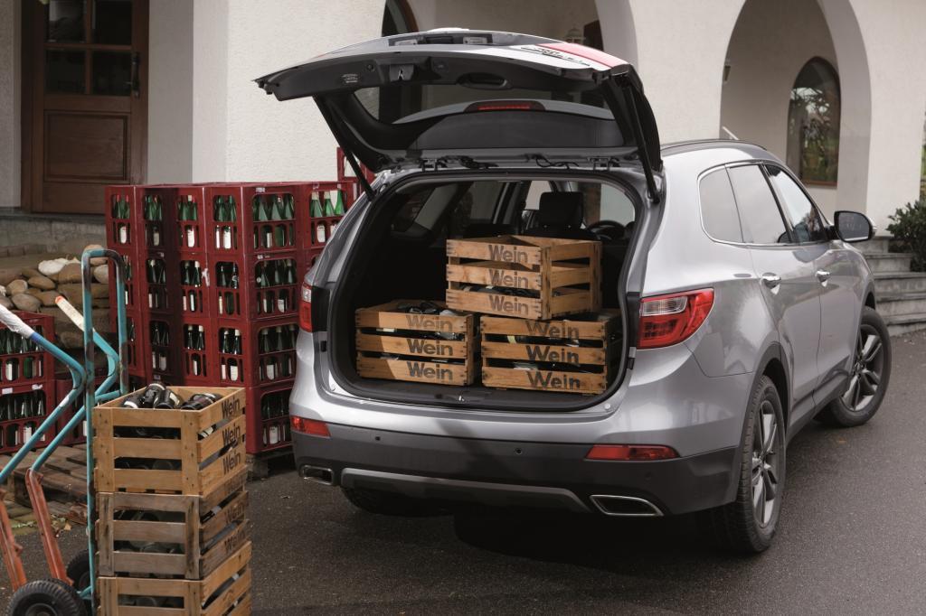Der Kofferraum fasst zwischen 634 und 1.842 Litern