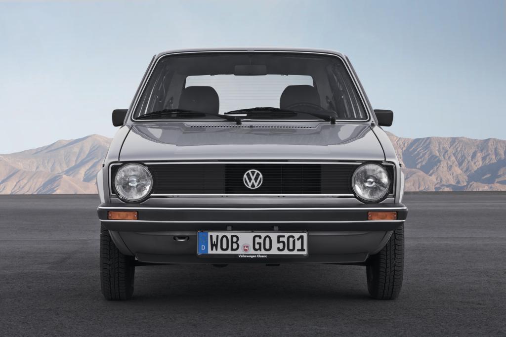 Der VW Golf im Jahr 1978