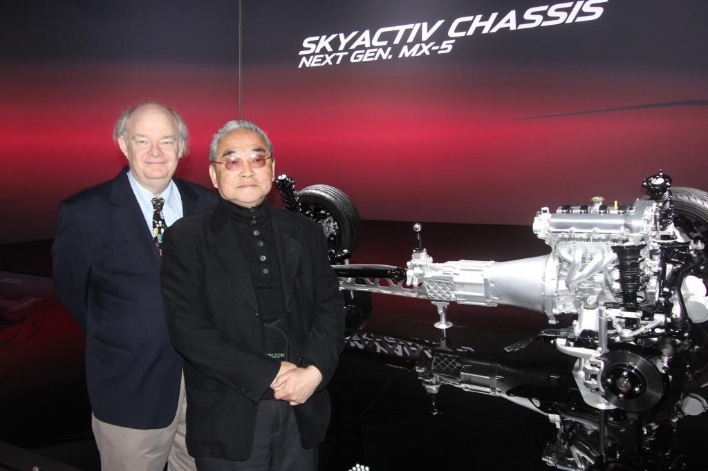 Der erfolgreichste Sportwagen der Welt geht auf das Konto des amerikanischen Autotesters Bob Hall.