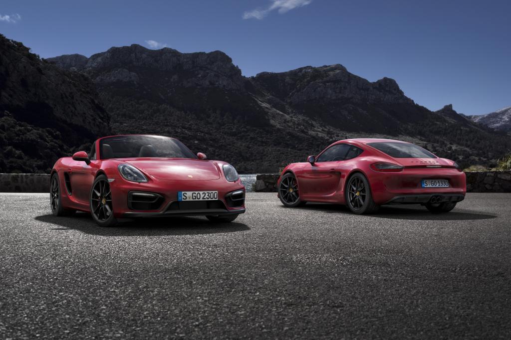 Der kleine zweisitzige Sportwagen Cayman und der offene Boxster leisten in der neuen GTS-Variante nur jeweils 15 PS mehr als die bislang stärksten S-Versionen